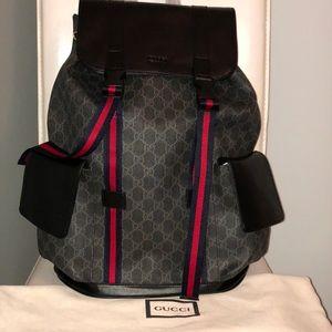 17dc65cec1e1 Gucci Bags - Gucci Soft GG Supreme Backpack
